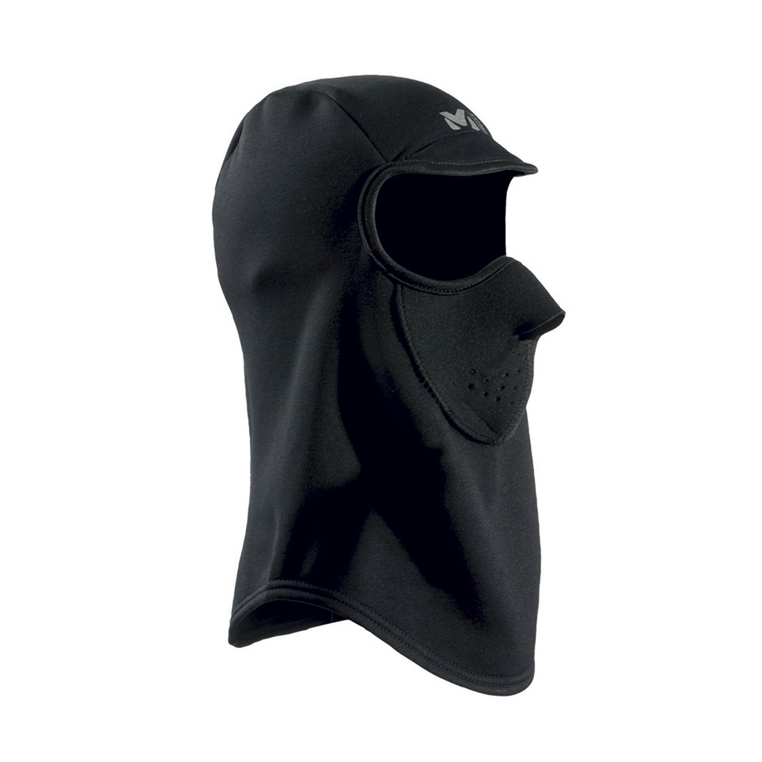 Cache Cou Power Stretch Face Mask Black - Noir