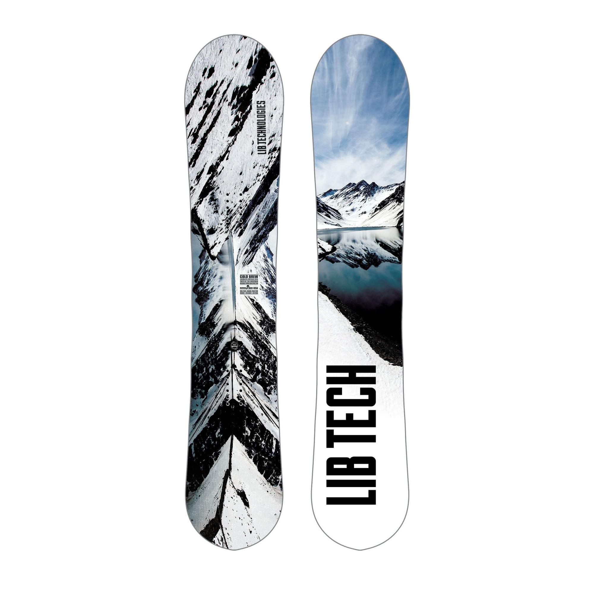 Planche De Snowboard Libtech Cold Brew C2 Livraison Gratuite