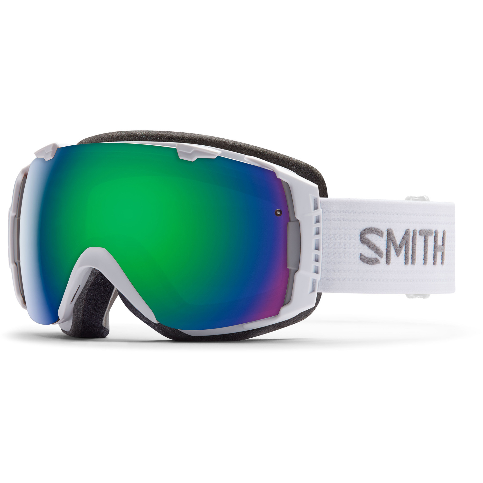 masque de ski snow smith optics i o blanc homme pas cher. Black Bedroom Furniture Sets. Home Design Ideas
