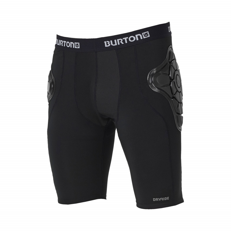 Short de protection Burton MB TOTAL IMP SHORT TRUE BLACK Homme