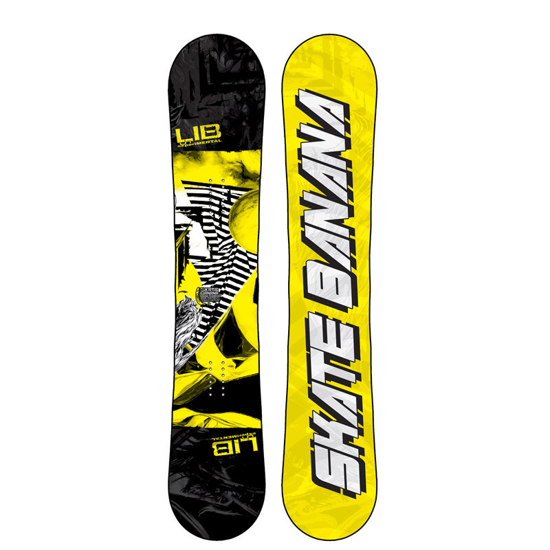planche de snowboard lib tech skate banana 152 pas cher. Black Bedroom Furniture Sets. Home Design Ideas