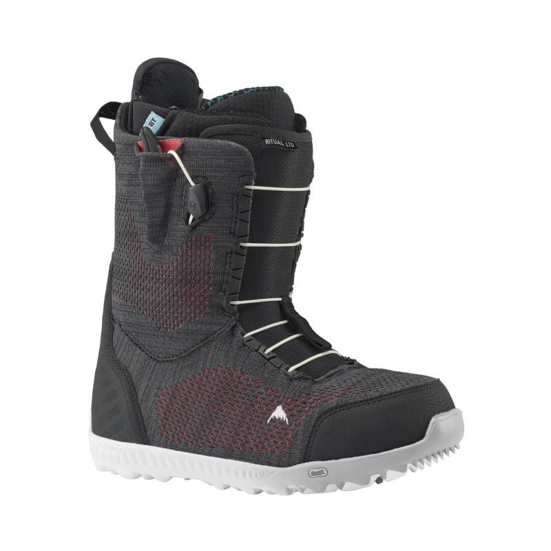 Boots de Snowboard Burton RITUAL LTD CHARCOAL/CORAL