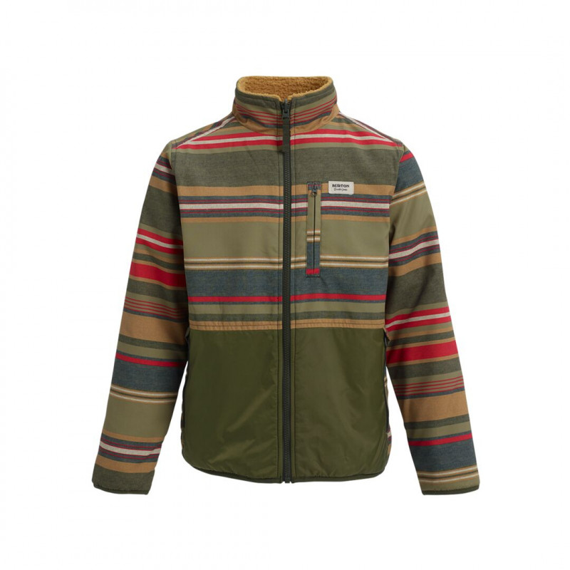 Veste de Ski/Snow Burton Snookt Reversible Fleece Marron