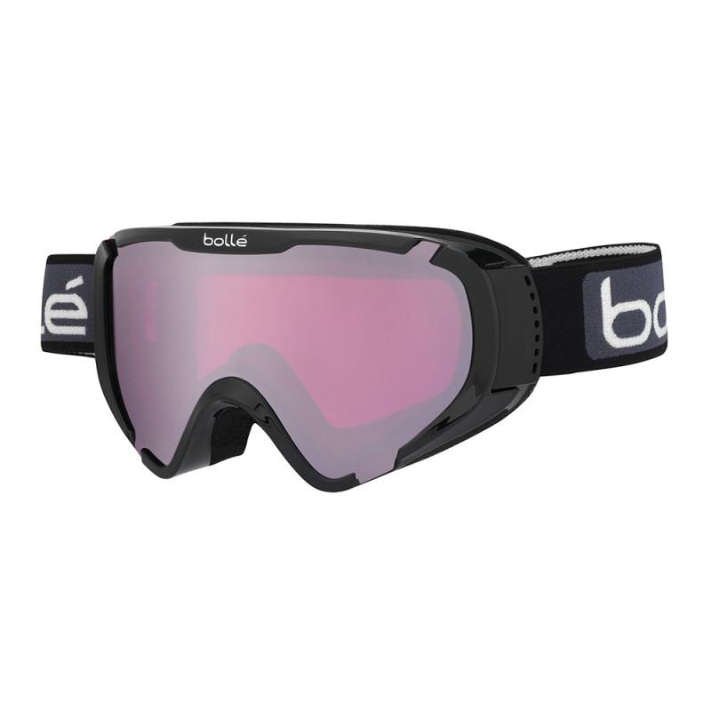 Masque de Ski/Snow Bollé Explorer OTG Shiny Black Vermillon Gun