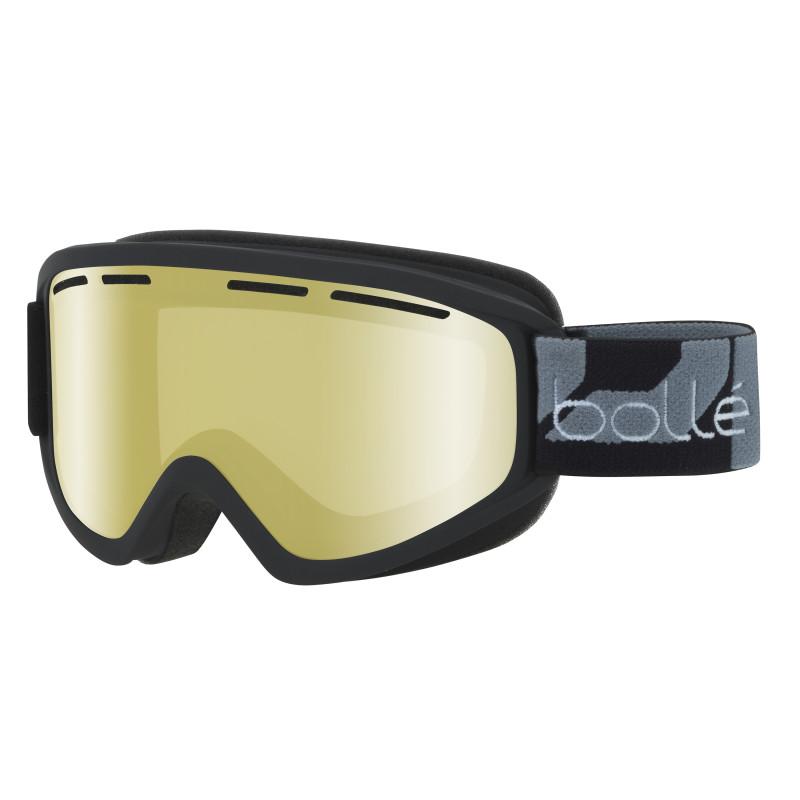 Masque de Ski/Snow Bollé Schuss Matte Black Lemon GUN