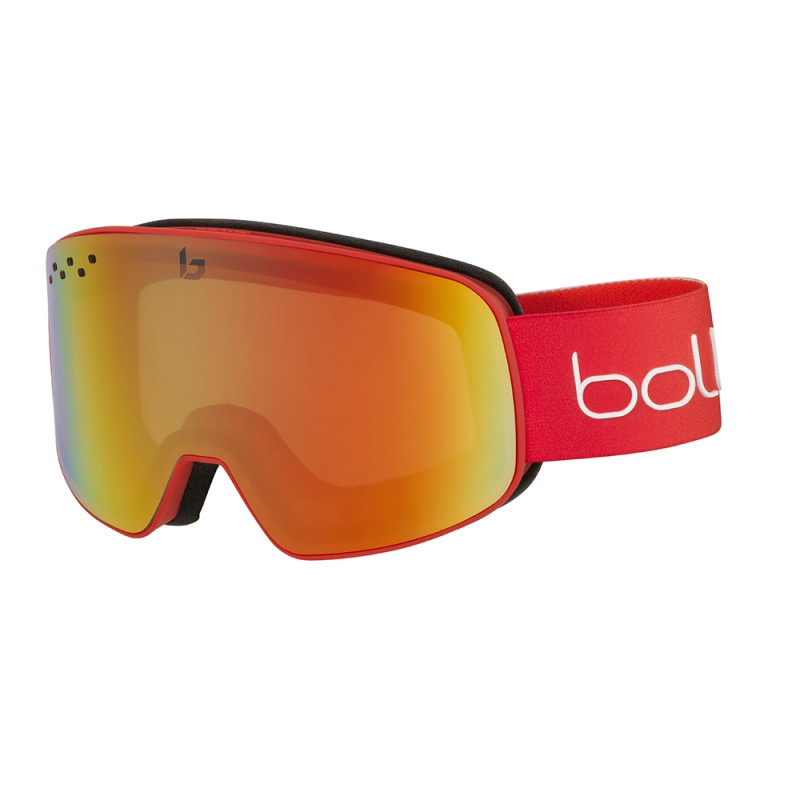 Masque de Ski/Snow Bollé Nevada Matte Red Gradient PC Fire Red