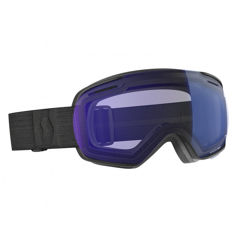 Masque de Ski / Snow Scott Linx black illuminator blue chrome