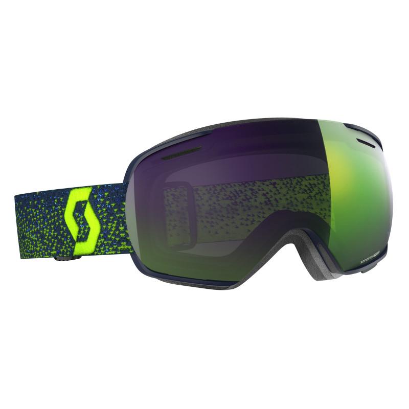 Masque de Ski / Snow Scott Linx blue/yellow enhancer green chrome