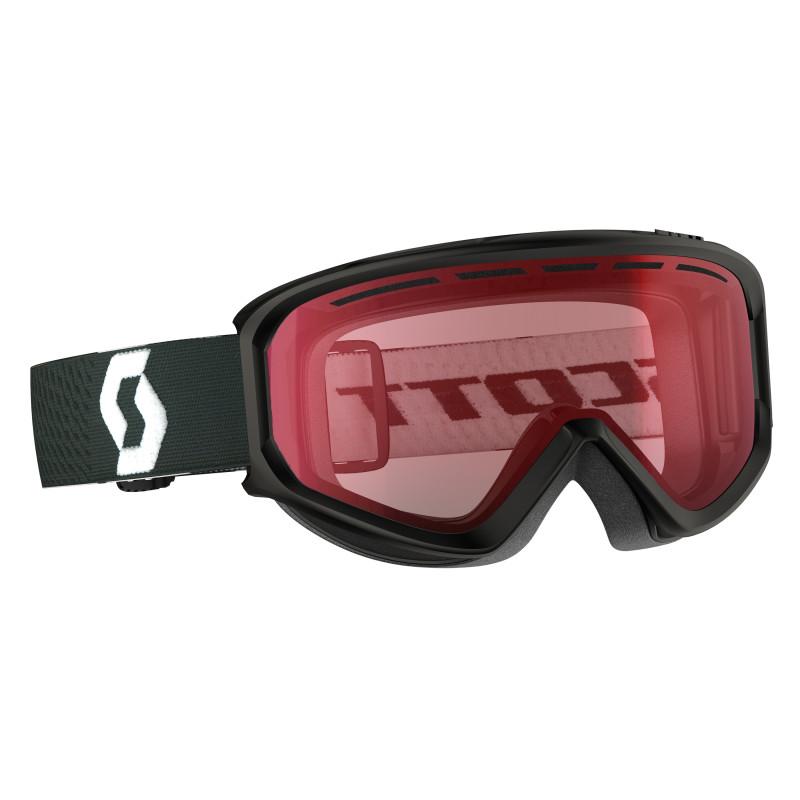 Masque de Ski Snow Scott Fact Black Illuminator