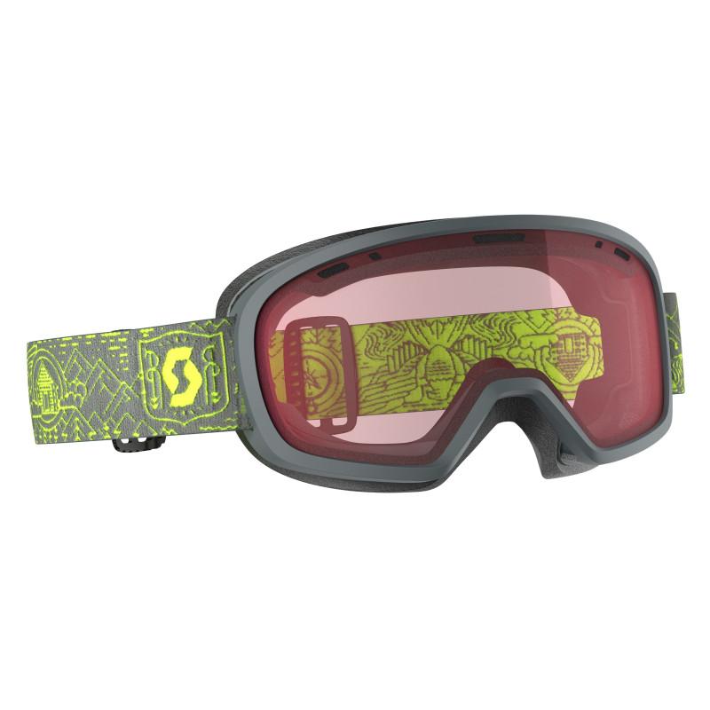 Masque de Ski / Snow Scott Muse Pro OTG grey/yellow enhancer