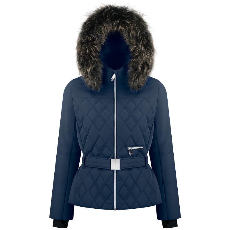 Veste de ski Poivre Blanc matelassée 1003-WO/B Gothic Blue3 Femme