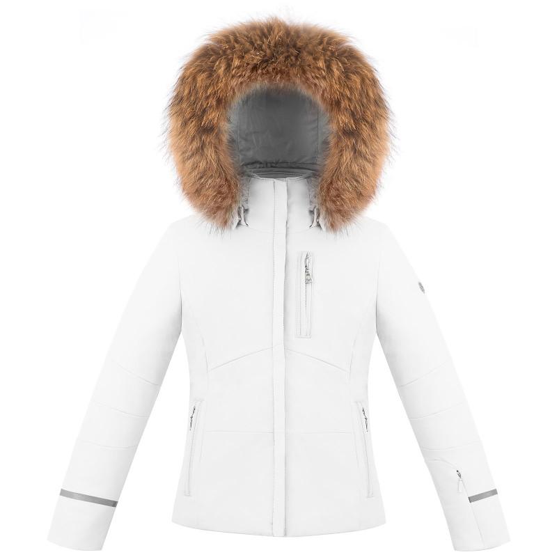 Veste de ski Poivre Blanc stretch 0802-JRGL/B White Fille