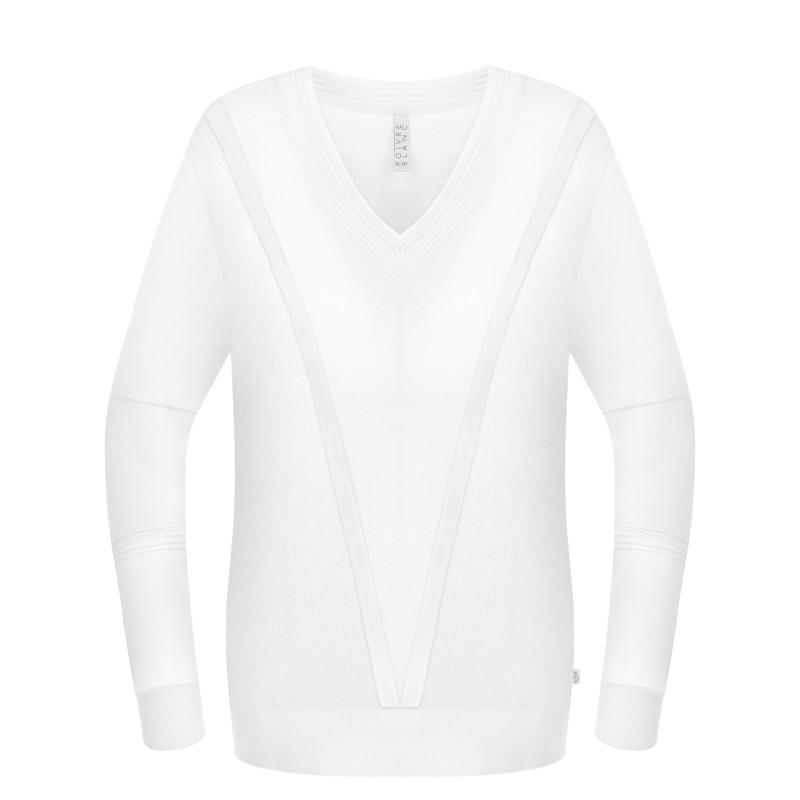 Pull en maille Poivre Blanc 6102 White Femme