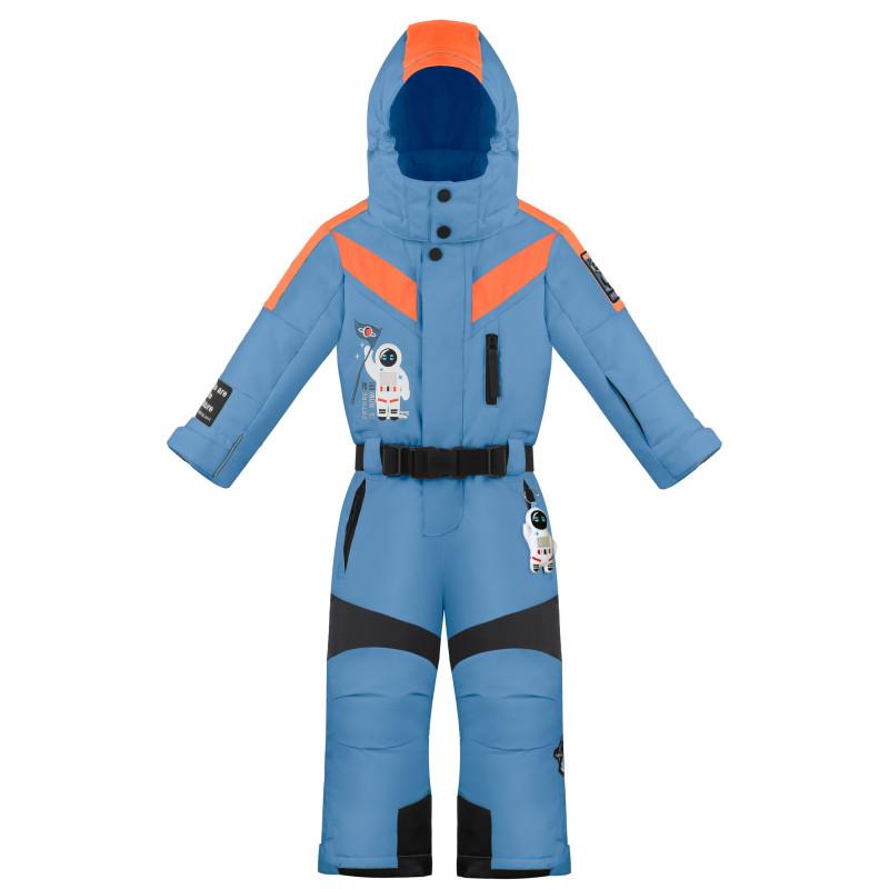 Combinaison de Ski Poivre Blanc SkiOverall 0930 fancy twilight blue Garçon