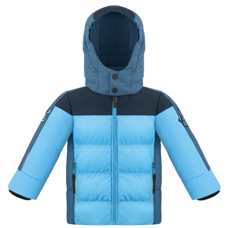 Veste de Ski Poivre Blanc SyntheticDownJacket 1215 multico artic blue Garçon