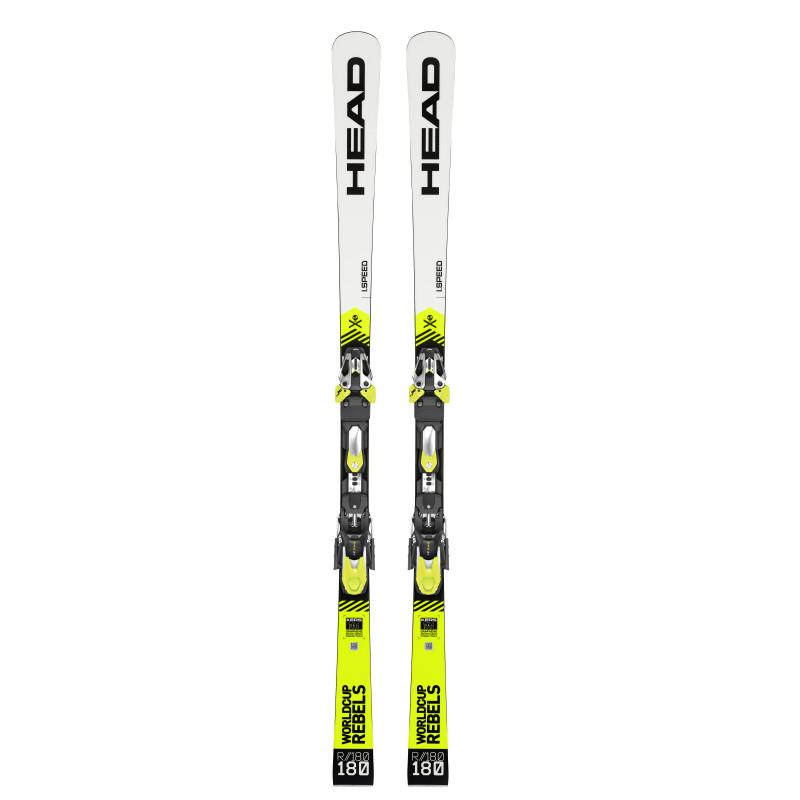 Pack Ski Head WC Rebels i.Speed + Fixations FF EVO 14