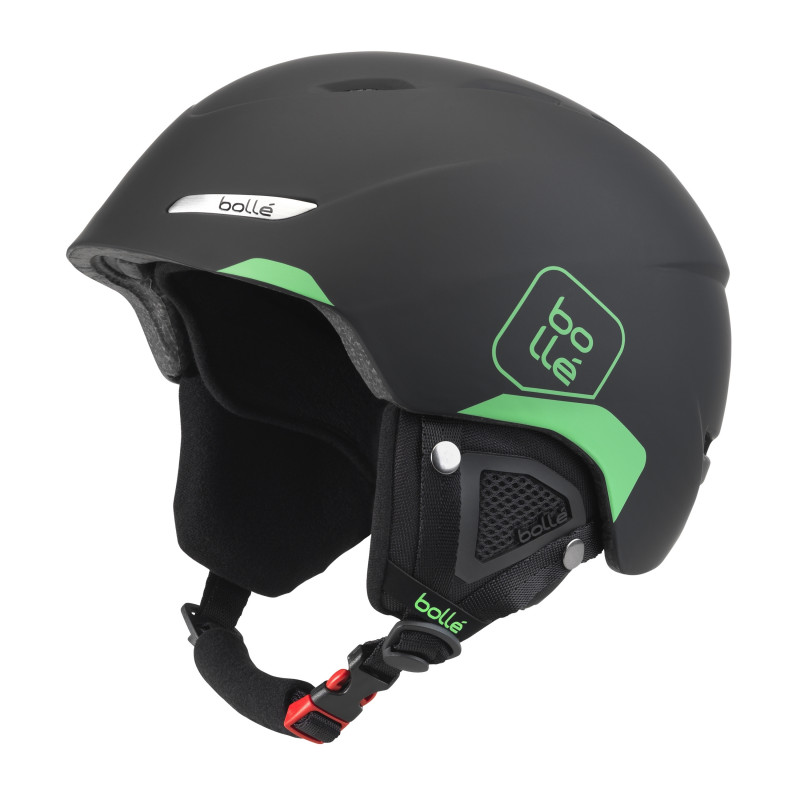 Casque de Ski/Snow Bollé B-Yond Soft Black & Green 54-58