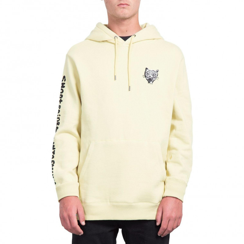 Sweat Volcom SHOOTS LIME Homme