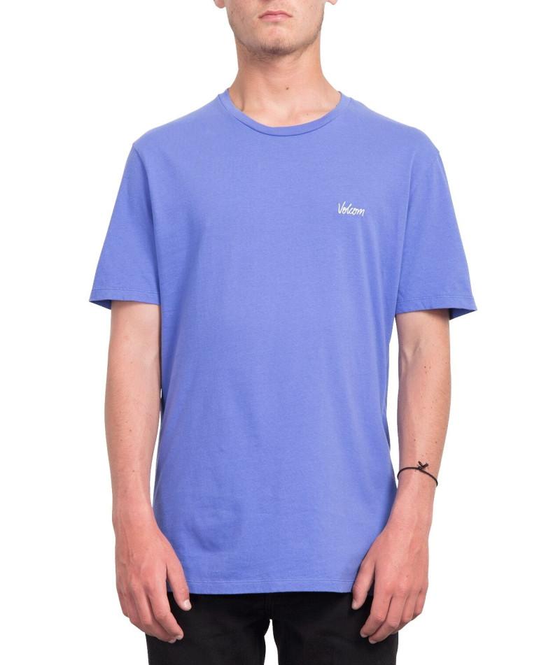 T-Shirt Volcom IMPRESSION Violet Homme
