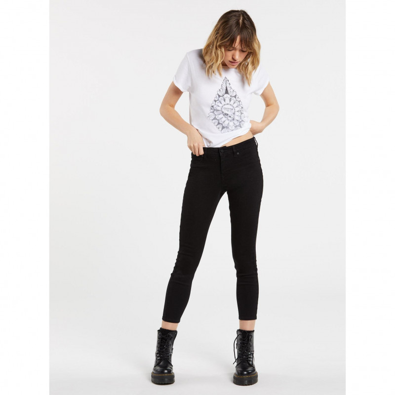 Pantalon Volcom Liberator Legging Premium Wash Black Femme