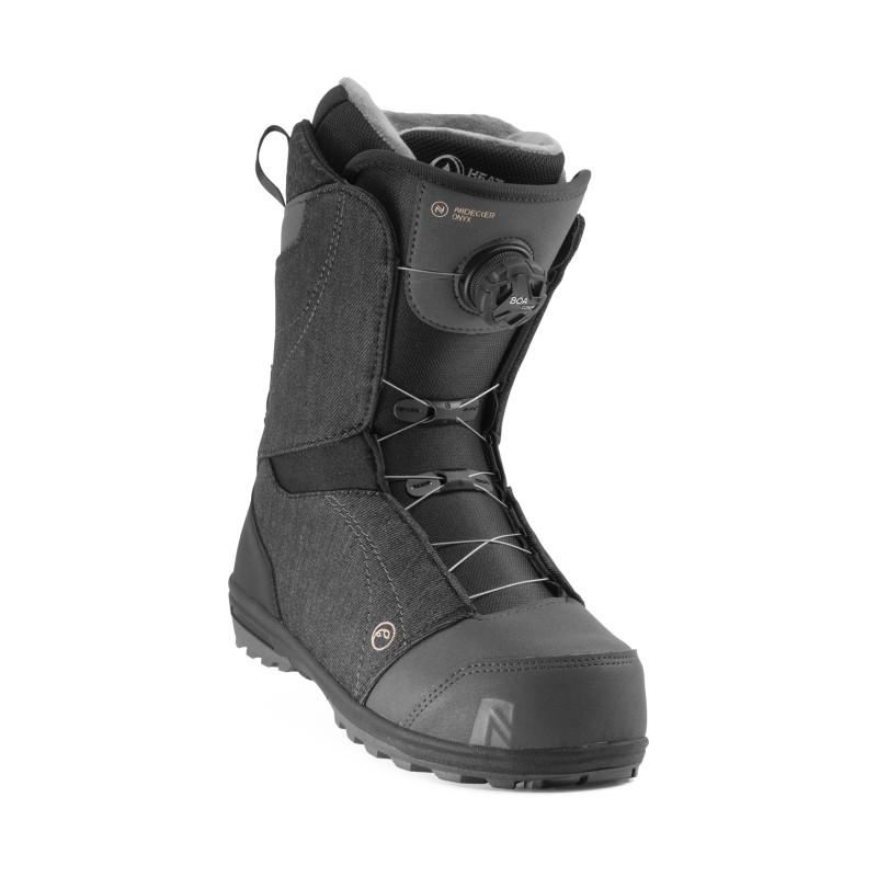 Boots de Snowboard Nidecker ONYX BOA Wm's Femme Noir