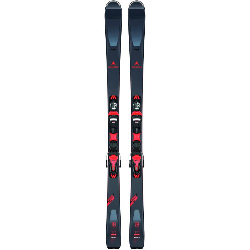 Pack Ski Dynastar SPEED ZONE 4X4 78 + Fixations XP11 GW Gris Homme