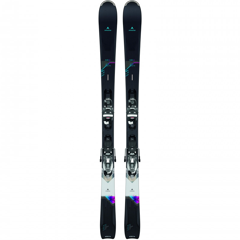 Pack Ski Dynastar INTENSE 4X4 82 PRO W + Fixations NX12 K.GW Noir Femme