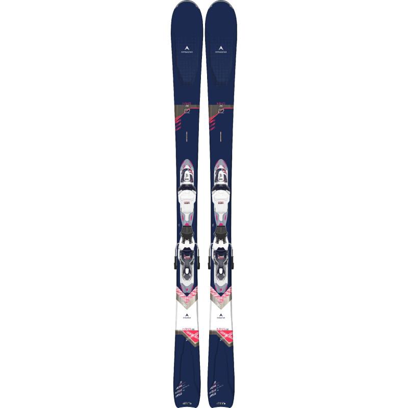 Pack Ski Dynastar INTENSE 4X4 82 + Fixations XP W 11 GW Bleu Femme