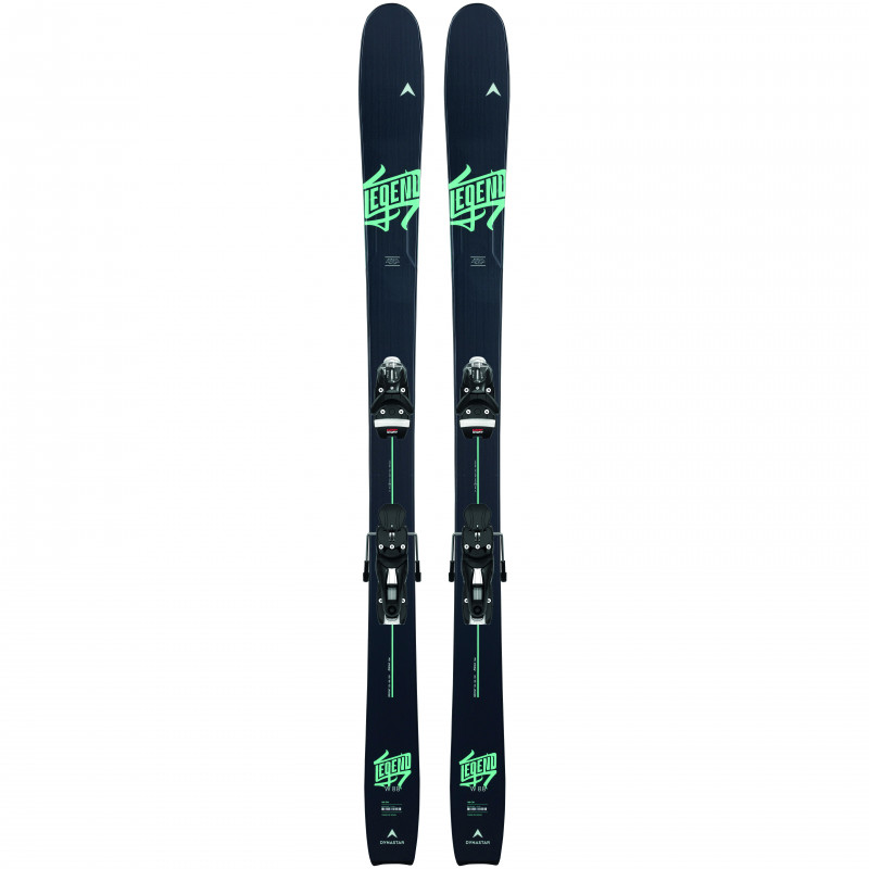 Pack Ski Dynastar LEGEND W 88 + Fixations NX 12 GW Bleu Femme