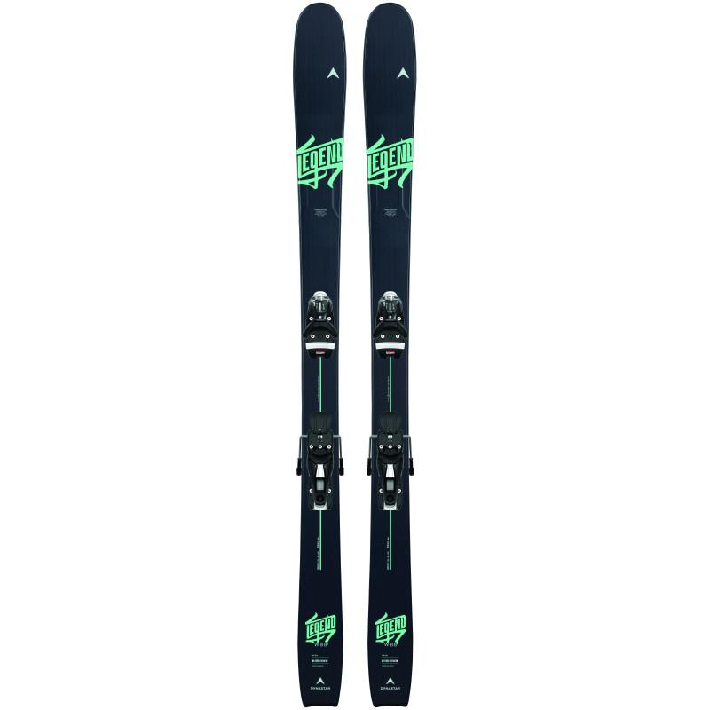 Pack Ski Dynastar LEGEND W 88 + Fixations XP 10 RTS Bleu Femme