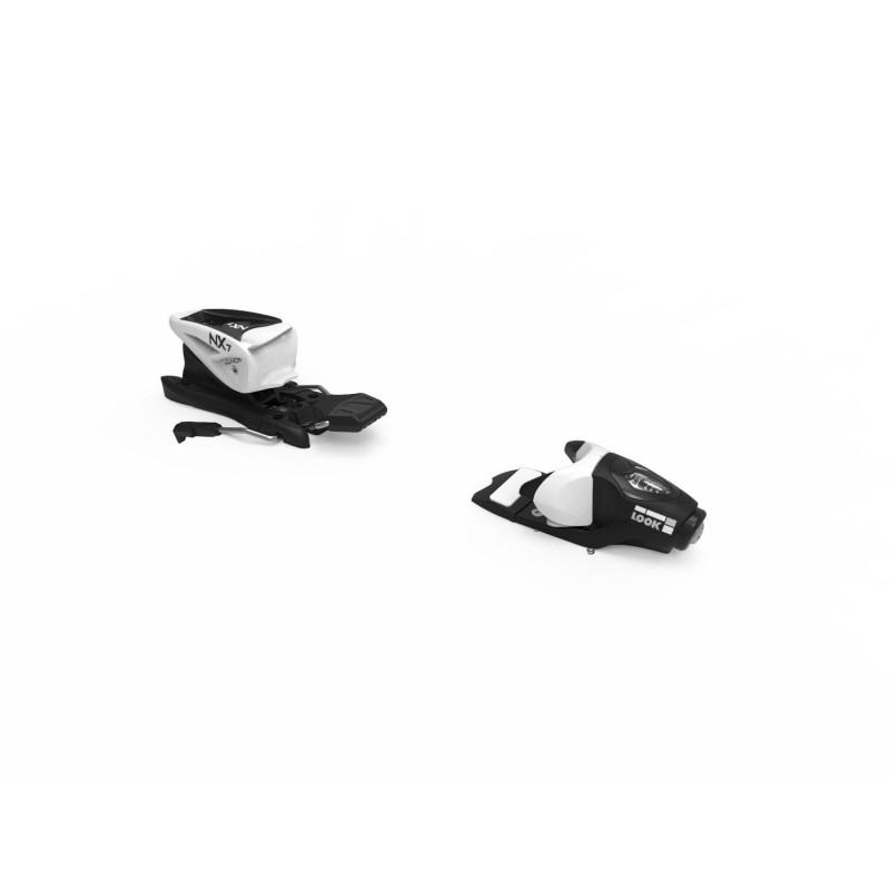 Fixations de Ski Look NX JR 7 B83 BLACK/WHITE