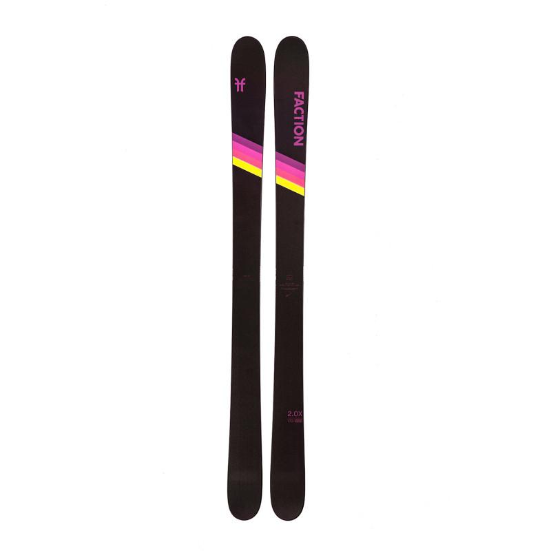 Ski Seul Faction (Sans Fixation) Candide 2.0 Homme Noir