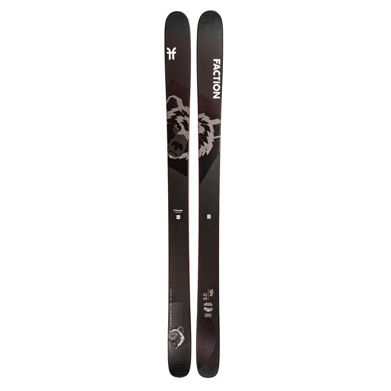 Ski Seul Faction (Sans Fixation) Prodigy 3.0 Homme Noir