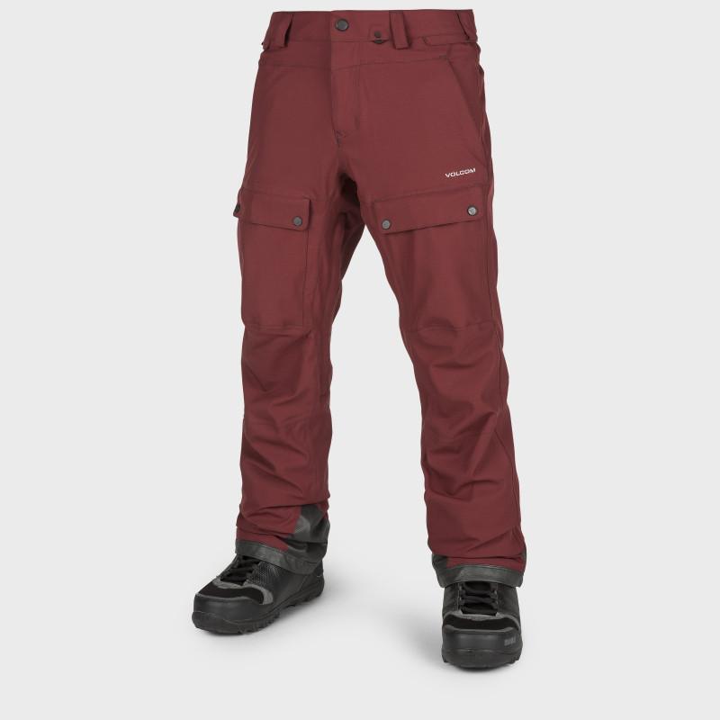 Pantalon Homme de Ski / Snow Volcom PAT MOORE BURNT RED