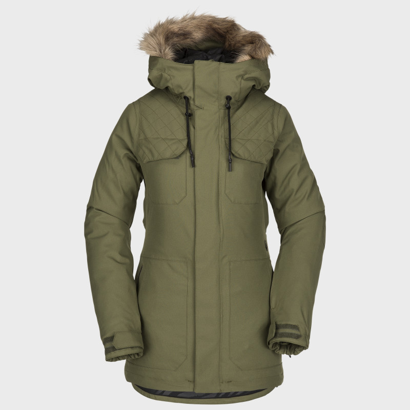 Veste Femme de Ski / Snow Volcom SHADOW INS MILITARY