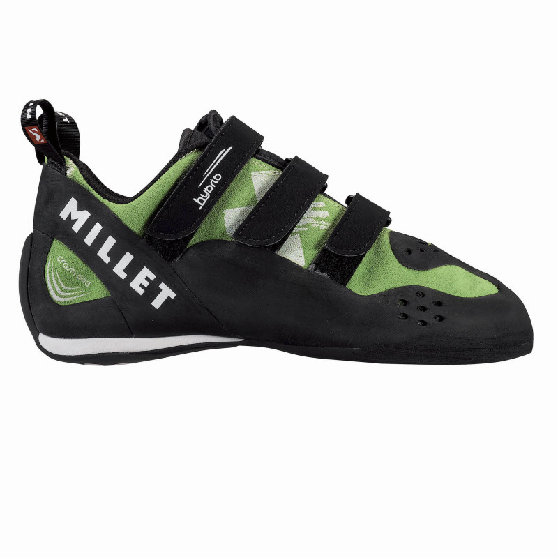 Chaussons D'escalade Millet HYBRID GREEN FLASH Homme