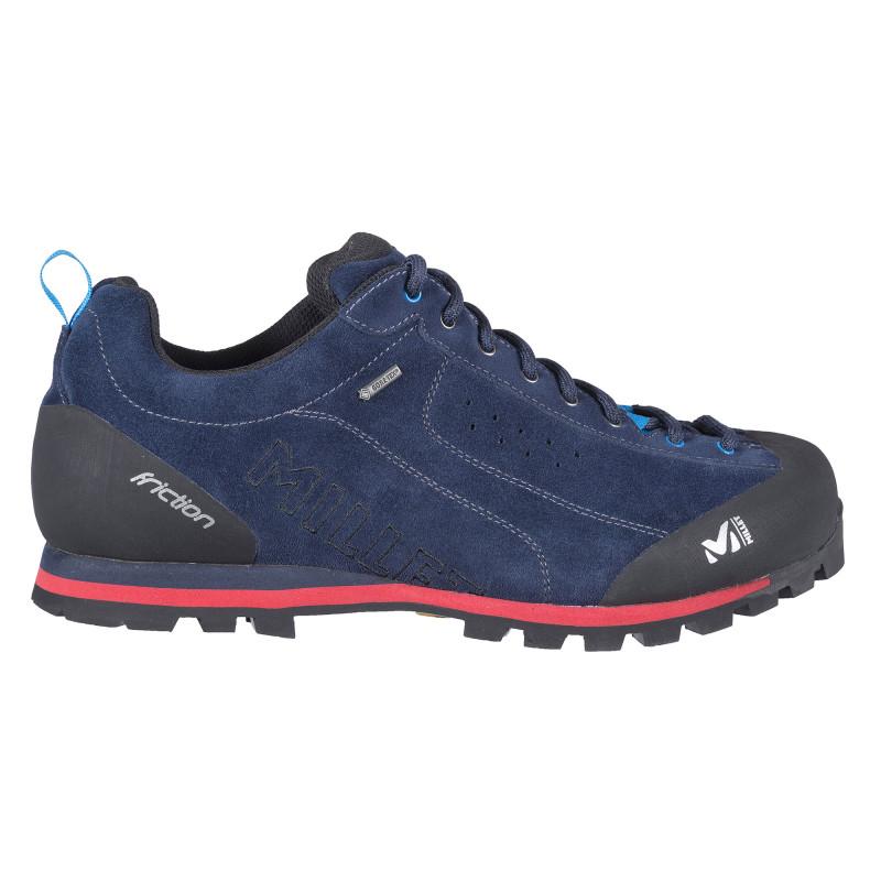 Chaussures Basses De Randonnée Gore-Tex Millet FRICTION GTX SAPHIR/ROUGE Homme