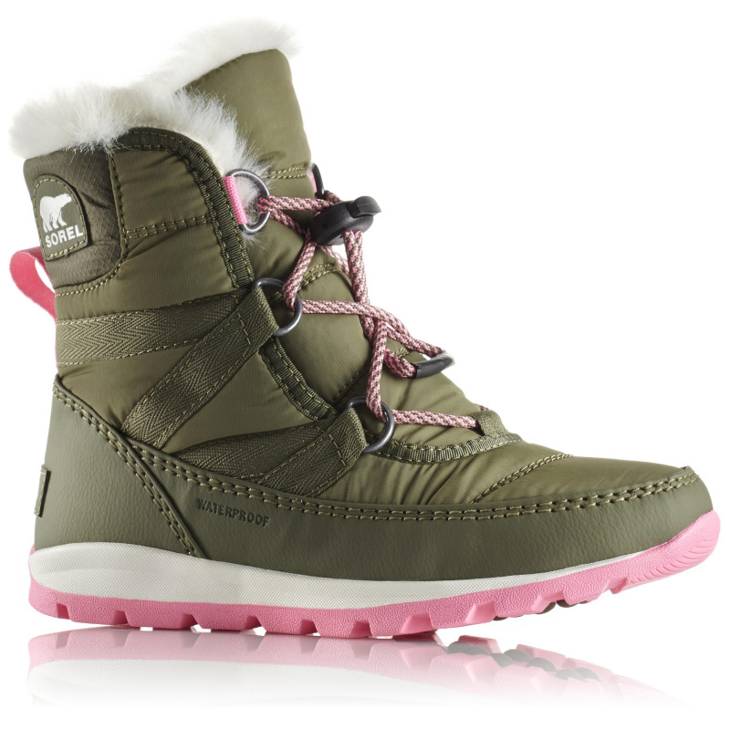 Après Ski Enfants Sorel Whitney Short Lace Hiker Green