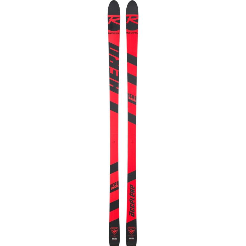 Ski Rossignol Hero Athlete Mogul Accelere Rouge Homme (Ski nu, sans fixations)