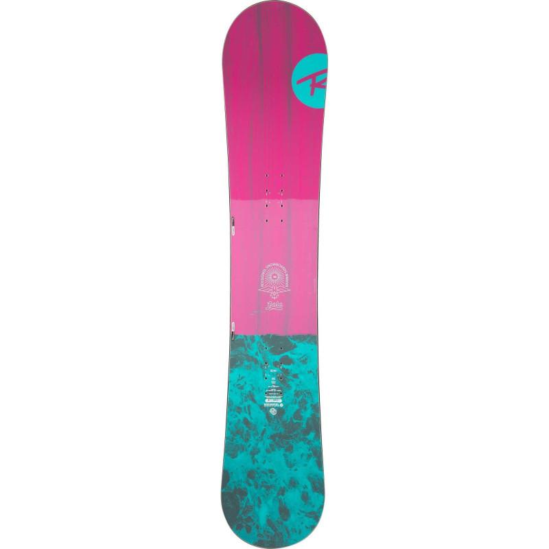 Planche De Snowboard Rossignol Gala Rose Femme