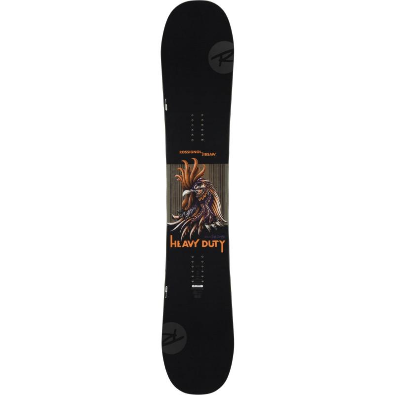 Planche De Snowboard Rossignol Jibsaw Heavy Duty Wide Noir Homme