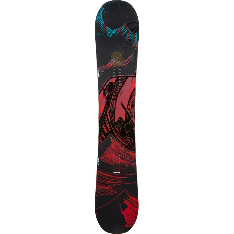 Planche De Snowboard Rossignol Angus Wide Noir Homme