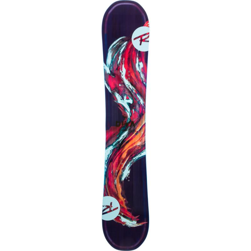 Planche De Snowboard Rossignol Diva Lite Frame Noir Femme