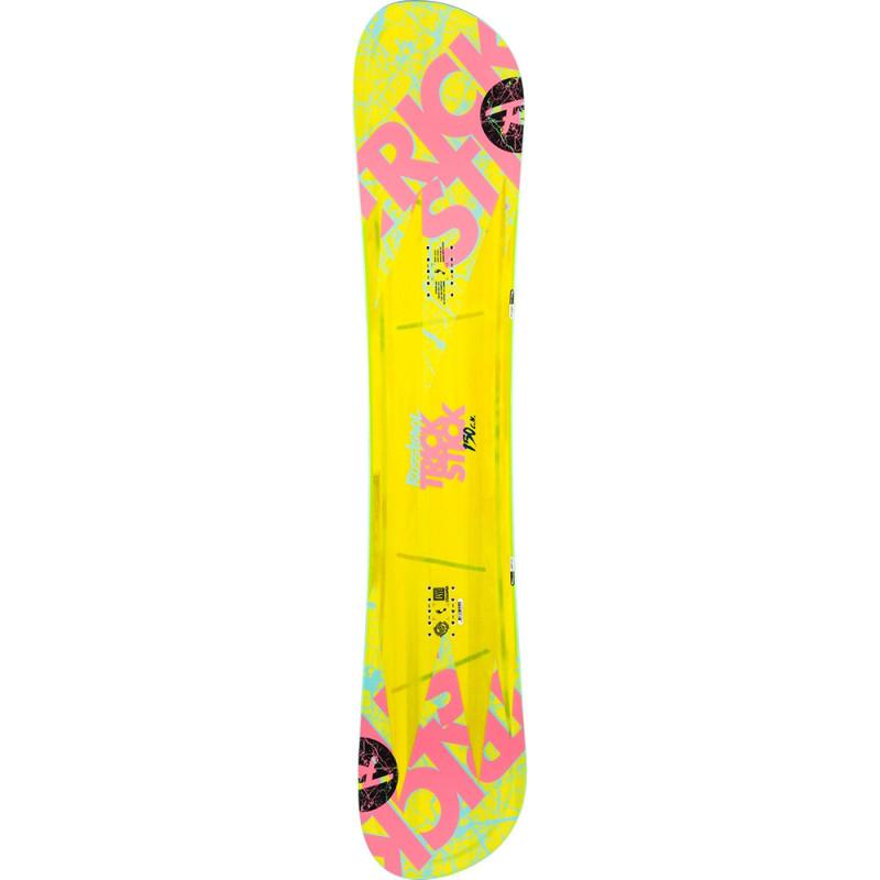 Planche De Snowboard Rossignol Trickstick Asym Frame Wide Jaune Homme