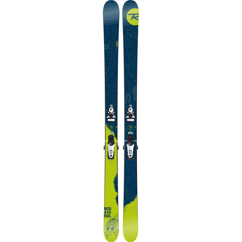 Skis Rossignol Storm + Fixations Look Axial 3 120 SS