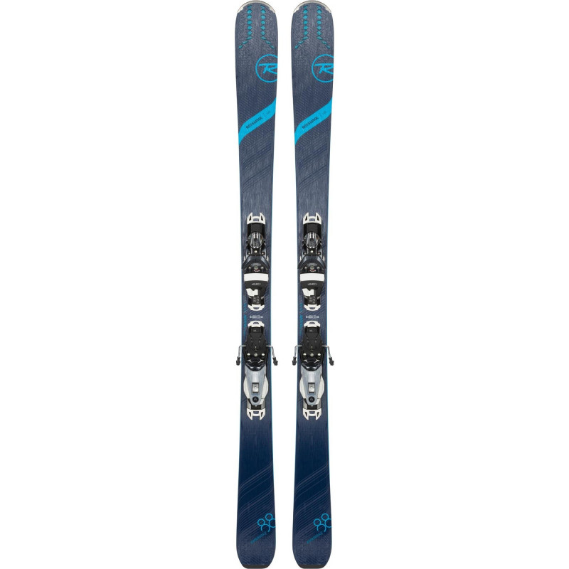 Skis Rossignol Experience 88 TI W + Fixations Nx12 Konnect.dual Femme
