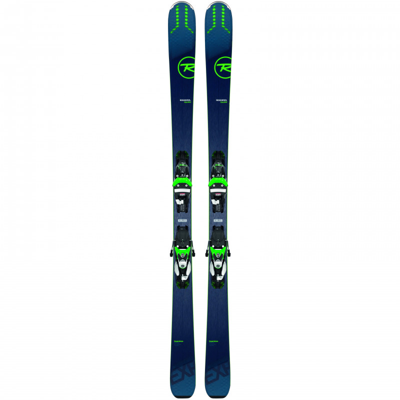 Pack Ski Rossignol EXPERIENCE 84 AI  + Fixations SPX12  K GW Homme Vert