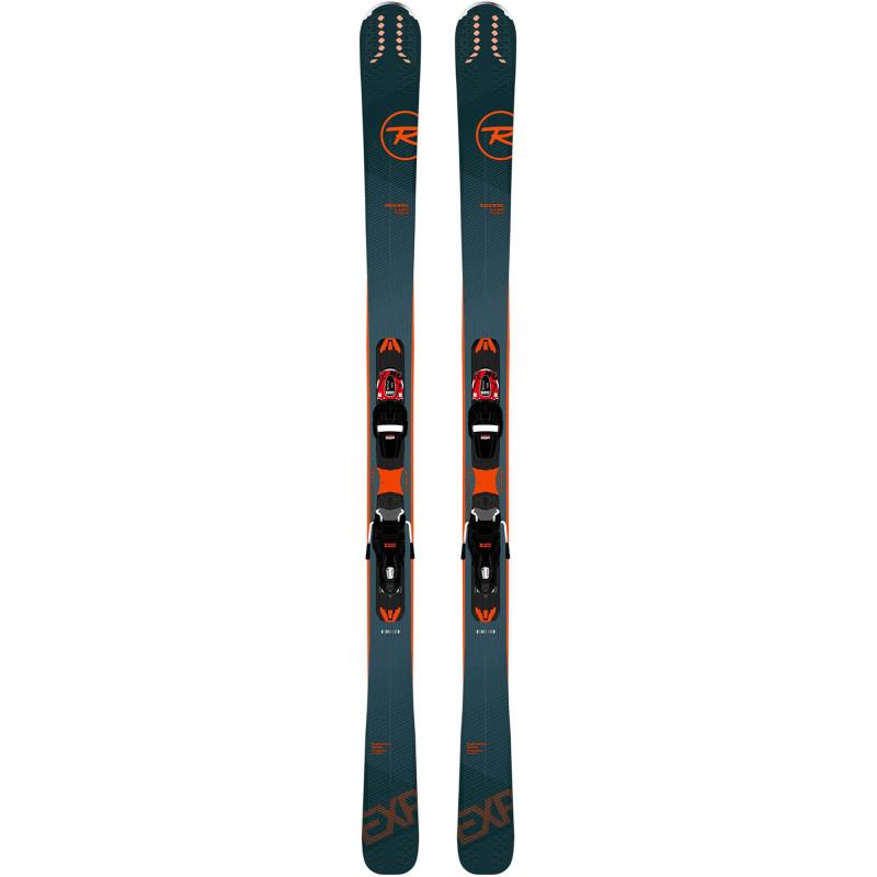 Pack ski Rossignol EXPERIENCE 80CI PREM + Fixations XP11 GW Homme Bleu
