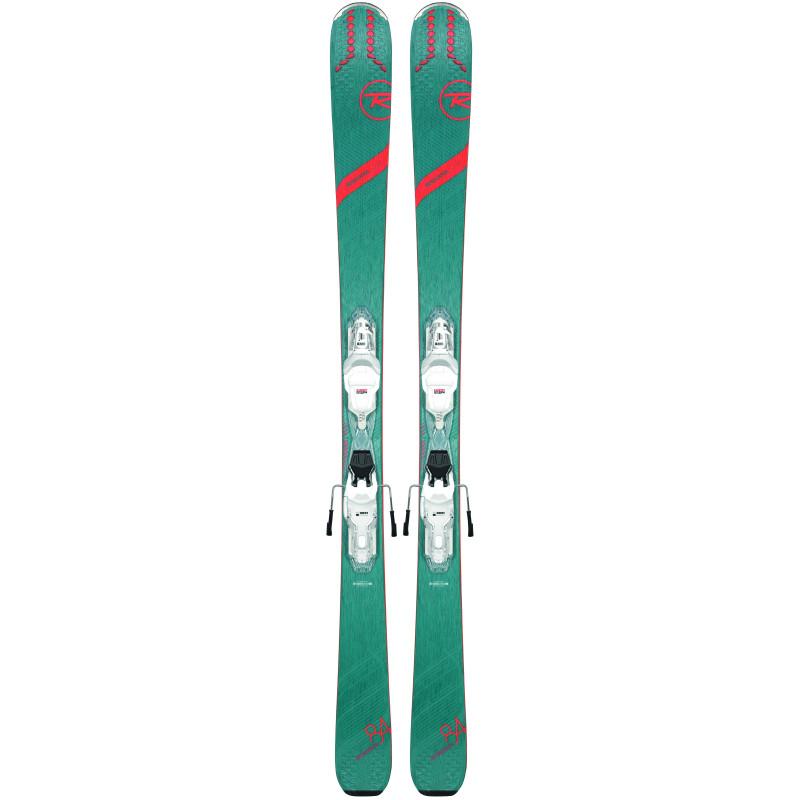 Pack Ski Rossignol EXPERIENCE 84 AI W XP + Fixations XP W11 GW Femme Vert