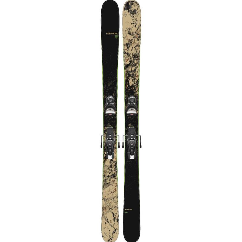 Pack Ski Rossignol Blackops Sender + Fixations Spx12 Gw Go Homme